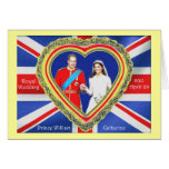 Prince William and Catherine Royal Wedding Greeting Card