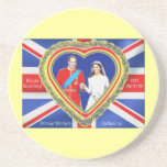 Prince William and Catherine Royal Wedding Drink Coaster