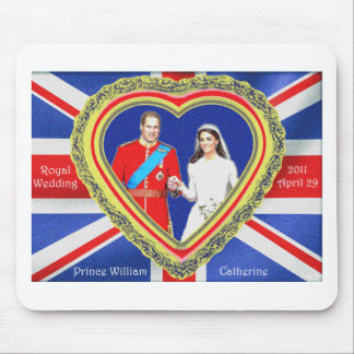 Prince William and Catherine Royal Wedding Mouse Mat