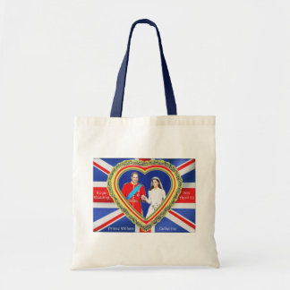 Prince William and Catherine Royal Wedding Tote Bag