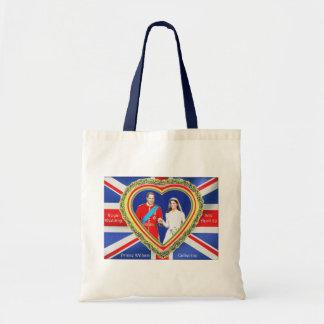 Prince William and Catherine Royal Wedding Budget Tote Bag