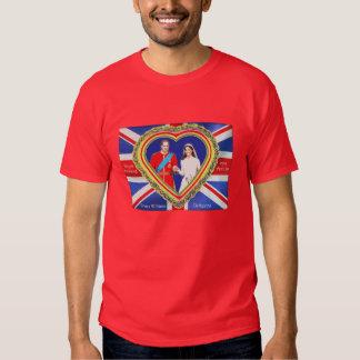 Prince William and Catherine Royal Wedding Tshirts