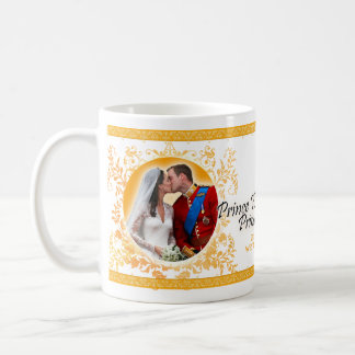 Prince William & Catherine Wedding Kiss Mug