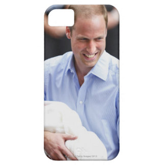 Prince William Holding Newborn Son 2 Barely There iPhone 5 Case