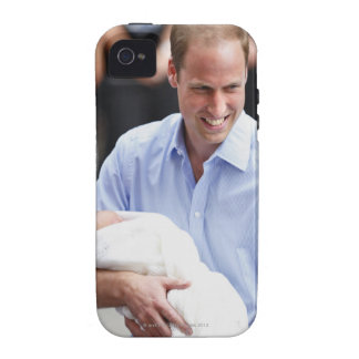 Prince William Holding Newborn Son 2 Case-Mate iPhone 4 Cover