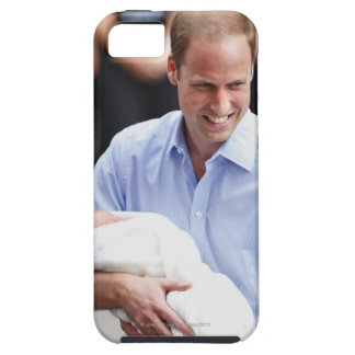 Prince William Holding Newborn Son 2 iPhone 5 Covers