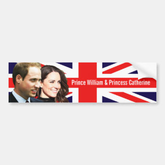 Prince William & Kate Bumper Sticker