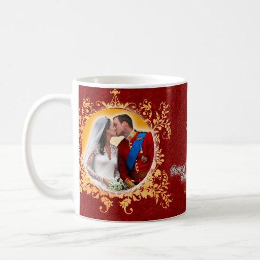 Prince William & Kate Kiss Mug