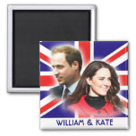 Prince William & Kate Middleton Magnet
