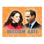 Prince William & Kate Middleton Postcard