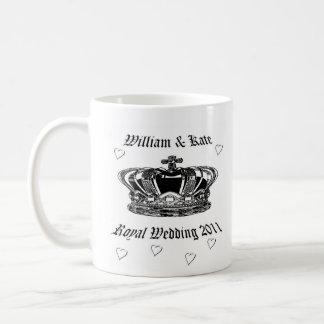 Prince William & Kate .Royal Wedding 2011 Basic White Mug
