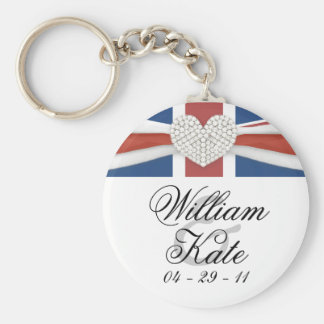 Prince William & Kate - Royal Wedding Souvenir Basic Round Button Key Ring