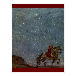Princes Riding Postcard
