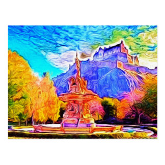 Princes Street Gardens, Edinburgh Postcard
