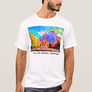 Princes Street Gardens, Edinburgh T-Shirt
