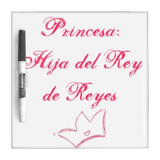 Princesa Dry-Erase Boards