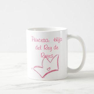 Princesa Hija del Rey de Reyes Mugs
