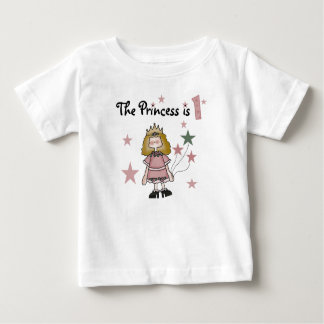 Princess 1st Birthday Baby T-Shirt