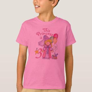 Princess 3rd Birthday T-Shirt