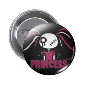 Princess 6 Cm Round Badge