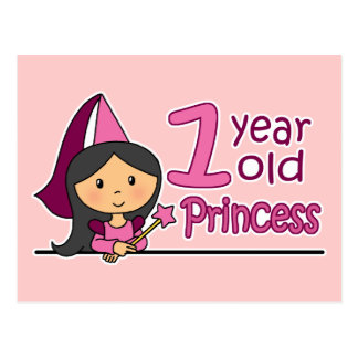 Princess Age 1 Postcard