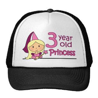 Princess Age 3 Cap