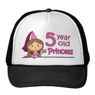 Princess Age 5 Hat