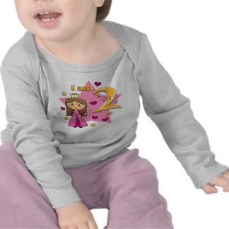 Princess Age Two Tee Shirt