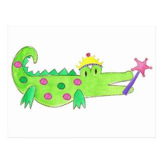 Princess Alligator Post Cards
