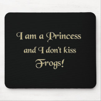 Princess and Frogs Mouse Pad