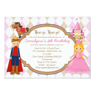 Prince birthday invitations announcements zazzle princess and prince birthday party invitations filmwisefo