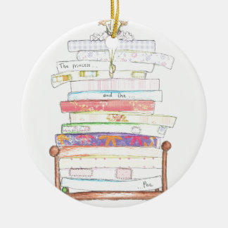 princess and the pea christmas ornament