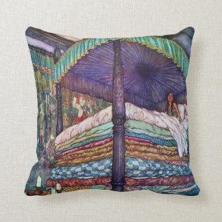 Princess and the Pea Edmund Dulac Fine Art Cushion