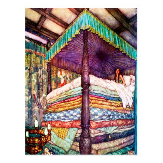 Princess and the Pea Postcard
