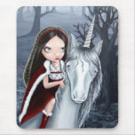 Princess and Unicorn Mouse Pad