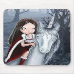 Princess and Unicorn Mouse Pads