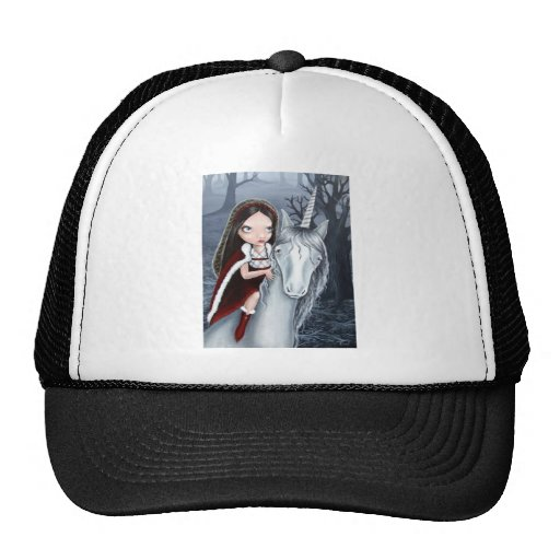 Princess and Unicorn Trucker Hat