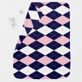 Princess Argyle Baby Blanket