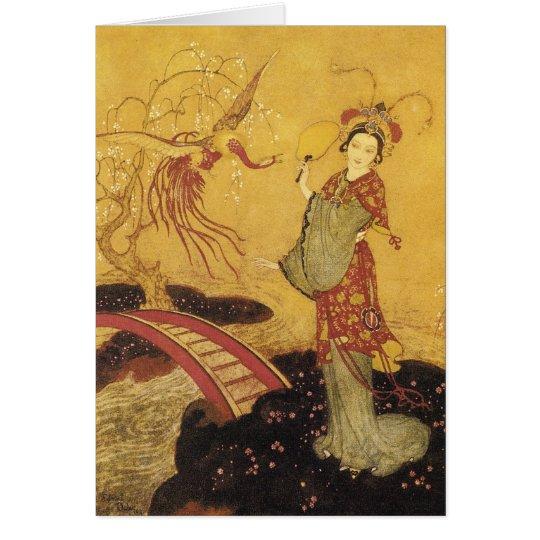 Princess Badoura Dulac Art Card