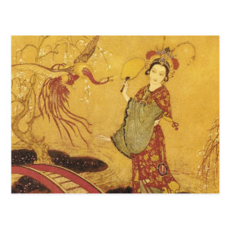 Princess Badoura Horizontal Postcard