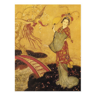 Princess Badoura Vertical Postcard