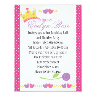 Princess Ball Card