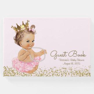 Princess Ballerina Girl Baby Shower Guest Book