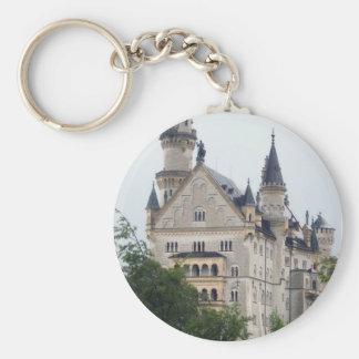 Princess Basic Round Button Key Ring