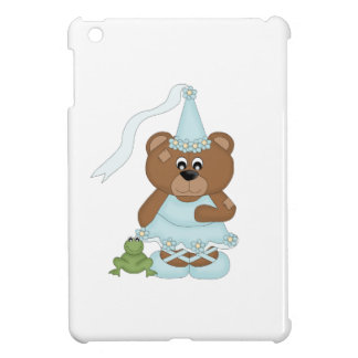 Princess Bear (light blue) iPad Mini Case