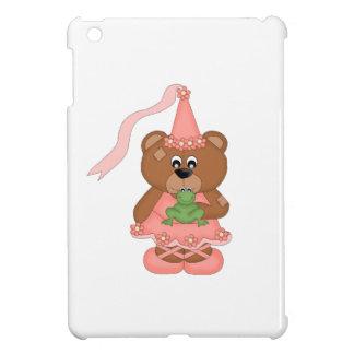 Princess Bear (peach) iPad Mini Cover