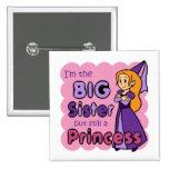 Princess Big Sister 15 Cm Square Badge