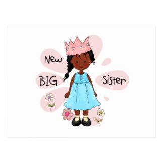 Princess Big Sister African American Postcard