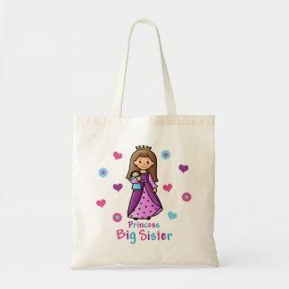 Princess Big Sister Tote Bags