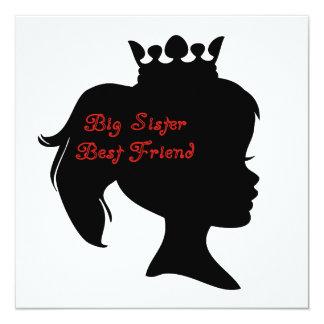 Princess Big Sister Best Friend Announcement